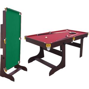 Air King Expert 5ft Foldable Pool Table Sub 6033 Mahog