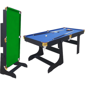 Air King Magician 6ft Folding Pool Table Sub 7236f Blk