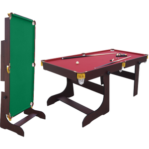 Air King Wizard 6ft Foldable Pool Table Sub 7236f Mahog