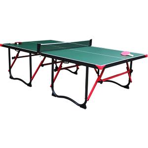 Walker & Simpson Smash Full Size 4 Piece Table Tennis Table - Green Sut 9f29 Green