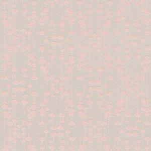 As Creation Pop Colours Beige & Pink Droplet Metallic Effect Textured Wallpaper