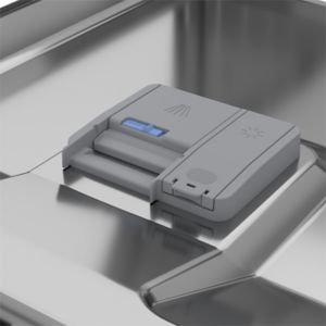 Beko Dfs05q10w Freestanding White Slimline Dishwasher