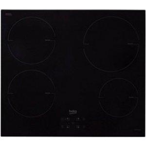 Beko Hqi 64400 Mt 4 Zone Black Glass Induction Hob  (w)580mm