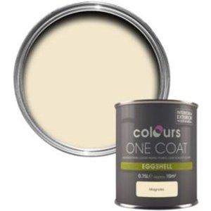 Colours One Coat Magnolia Eggshell Wood & Metal Paint 750 Ml