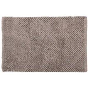 Cooke & Lewis Chanza Greige Dot & Tufty Cotton Bath Mat (l)800mm (w)500mm