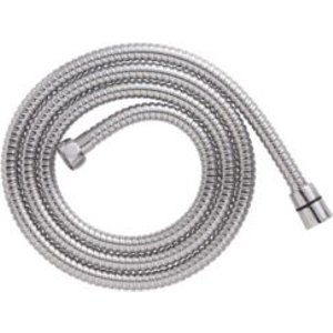 Cooke & Lewis Chrome Effect Stainless Steel Shower Hose 1.75m