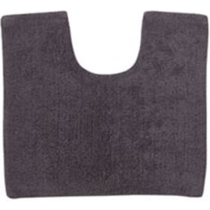 Cooke & Lewis Diani Anthracite Cotton Tufty Slip Resistant Bath Mat (l)500mm (w)450mm