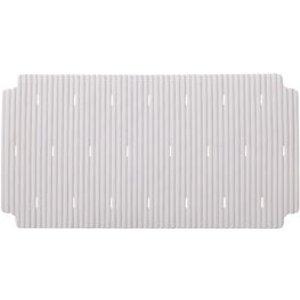 Cooke & Lewis Drina White Thermoplastic Elastomers (tpe) Slip Resistant Bath Mat (l)360mm