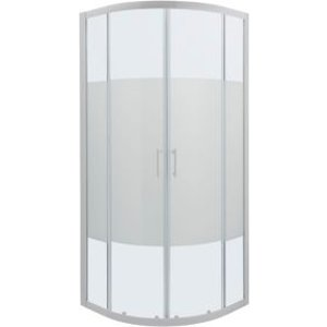 Cooke & Lewis Onega Quadrant Frosted Effect Shower Shower Enclosure With Corner Entry Doub