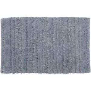 Cooke & Lewis Vorma Celadon Stripe & Tufty Cotton Bath Mat (l)800mm (w)500mm