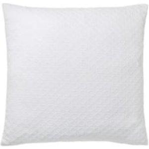 GoodHome Cristal Geometric White Cushion