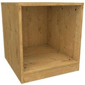 Form Darwin Modular Oak Effect Bedside Cabinet (h)546mm (w)500mm (d)566mm
