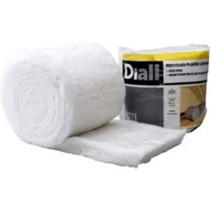 Diall Insulation Roll  (l)6m (w)0.37m (t)100mm