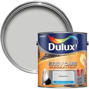Dulux Easycare Goose Down Matt Emulsion Paint  2.5l