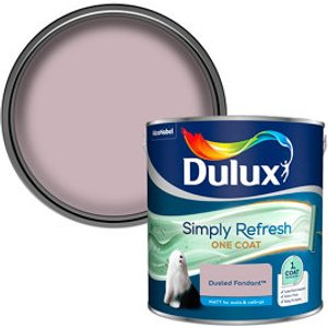 Dulux One Coat Dusted Fondant Matt Emulsion Paint  2.5l