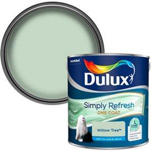 Dulux One Coat Willow Tree Matt Emulsion Paint  2.5l