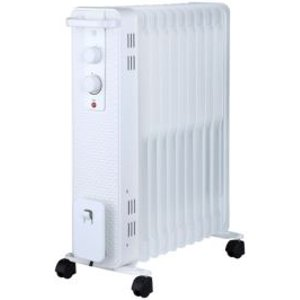 Electric 2400w White Oil-filled Radiator