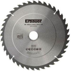 Erbauer 40t Circular Saw Blade (dia)250mm