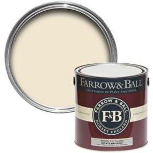 Farrow & Ball Estate White Tie No.2002 Matt Emulsion Paint  2.5l