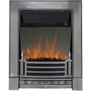 Focal Point Finsbury Chrome Effect Electric Fire