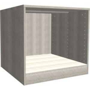 Form Darwin Grey Oak Effect Bedside Cabinet (h)546mm (w)500mm (d)566mm