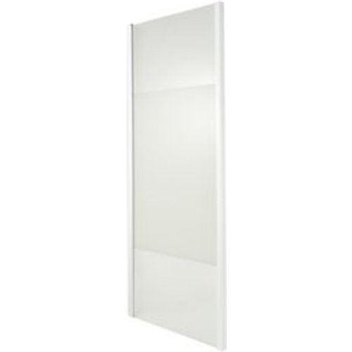 Goodhome Onega Gloss Strip With Frosted Effect Frosted Effect Shower Panel (h)1900mm (w)70
