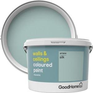 Goodhome Walls & Ceilings Artane Silk Emulsion Paint 2.5l
