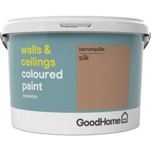 Goodhome Walls & Ceilings Barranquilla Silk Emulsion Paint 2.5l