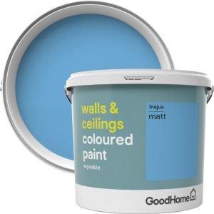 Goodhome Walls & Ceilings Frejus Matt Emulsion Paint 5l