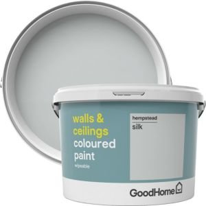 Goodhome Walls & Ceilings Hempstead Silk Emulsion Paint 2.5l