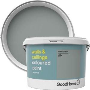 Goodhome Walls & Ceilings Manhattan Silk Emulsion Paint 2.5l