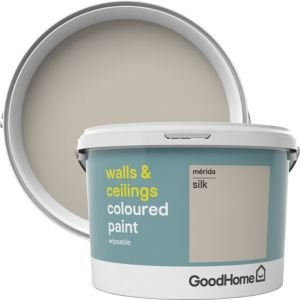 Goodhome Walls & Ceilings Merida Silk Emulsion Paint 2.5l
