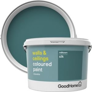 Goodhome Walls & Ceilings Milltown Silk Emulsion Paint 2.5l
