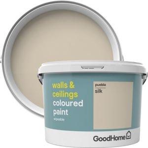 Goodhome Walls & Ceilings Puebla Silk Emulsion Paint 2.5l
