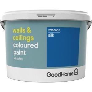 Goodhome Walls & Ceilings Valbonne Silk Emulsion Paint 2.5l