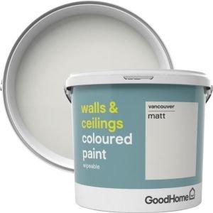 Goodhome Walls & Ceilings Vancouver Matt Emulsion Paint 5l