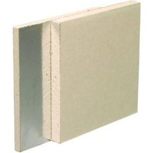 Gyproc Duplex Square Edge Plasterboard  (l)2.4m (w)1.2m (t)12.5mm