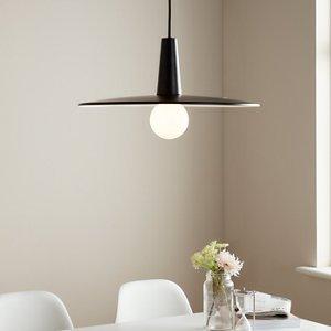 Goodhome Hibonit Black Pendant Ceiling Light  (dia)450mm