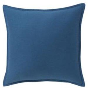 Goodhome Hiva Plain Dark Blue Cushion (l)60cm X (w)60cm