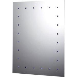 Illuminated Rectangular Mirror (w)500mm (h)650mm