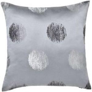 GoodHome Kolla Spotted Grey Cushion