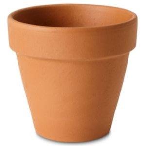 Verve Laleh Terracotta Terracotta Round Plant Pot (dia)13.1cm