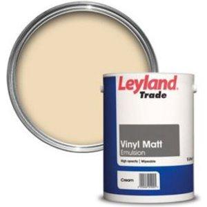 Leyland Trade Cream Matt Emulsion Paint  5l