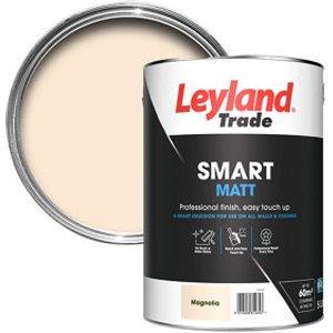 Leyland Trade Smart Magnolia Flat Matt Emulsion Paint  5l