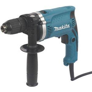 Makita 710w 240v Corded Hammer Drill Hp1631k  46545