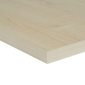 Maple Effect Fully Edged Chipboard Furniture Board  (l)1.2m (w)400mm (t)18mm