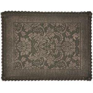 Marinette Saint-tropez Platinum Gasoline Floral Cotton Bath Mat (l)500mm (w)700mm