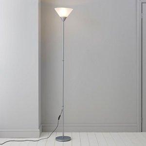 Matt Grey Floor Light
