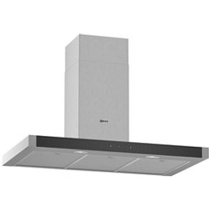 Neff D94bhm1n0b Black & Stainless Steel Chimney Cooker Hood  (w)90cm