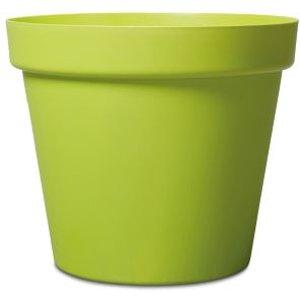 Nurgul Glazed Green Plastic Plant Pot (dia)70cm